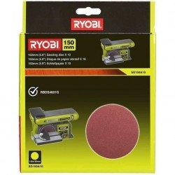 RYOBI 10 disques abrasif...