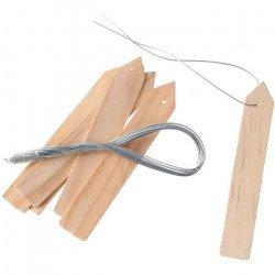 NATURE Etiquettes en bois...