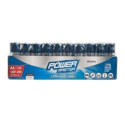POWERMASTER Lot de 40 Piles...